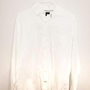 Banana Republic Non-iron classic fit white shirt